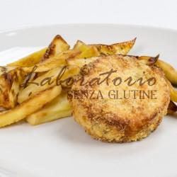 Burger di pesce senza glutine