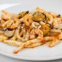 Strozzapreti ai frutti di mare senza glutine