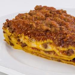 Lasagne senza uova, glutine, latte