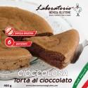 Etichetta torta al cioccolato senza glutine