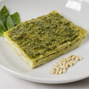 Lasagne with pesto & stracchino