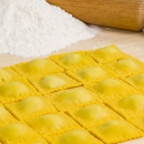 Ravioli filled with ricotta and spinach