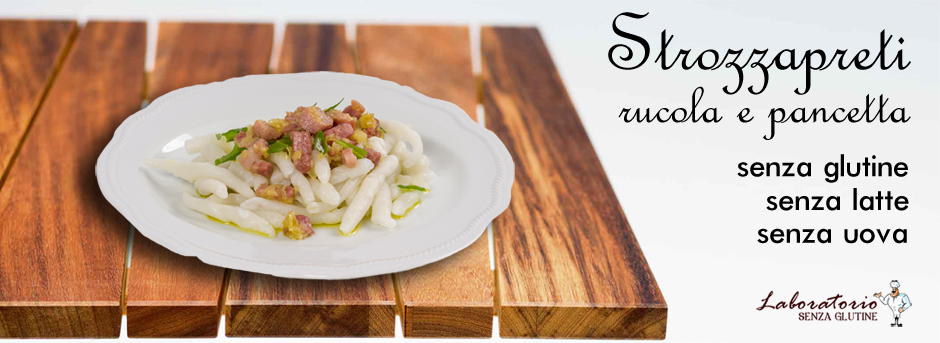 strozzapreti-rucola-pancetta