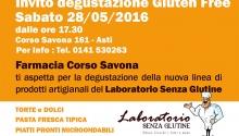 Degustazione gratuita di alimenti artigianali senza glutine ad Asti