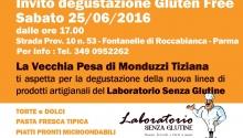 Degustazione gratuita di alimenti artigianali senza glutine a Roccabianca (Parma)