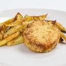 Burger di pesce con patate
