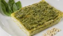 Lasagne senza glutine al pesto e stracchino: una novità per il vostro palato